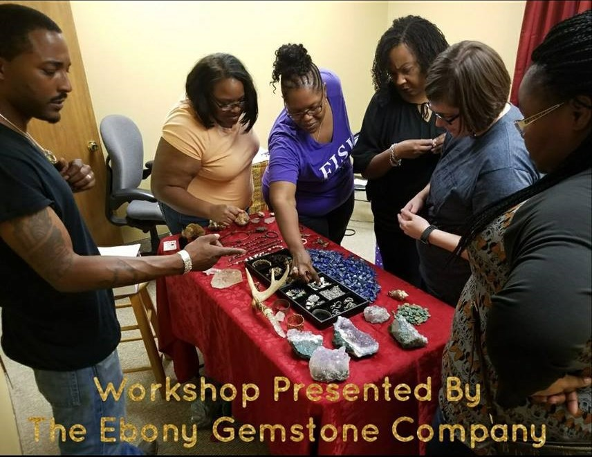 2017 Workshop with Ebony Gemstone Company