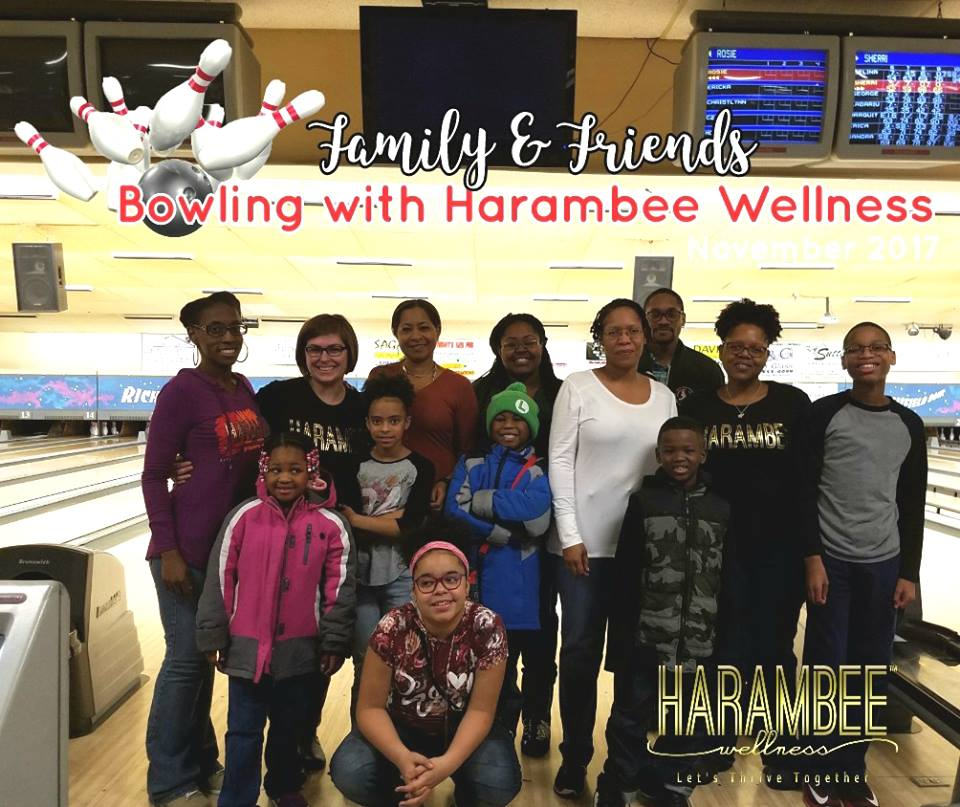 2017 Bowling with Harambee Wellness