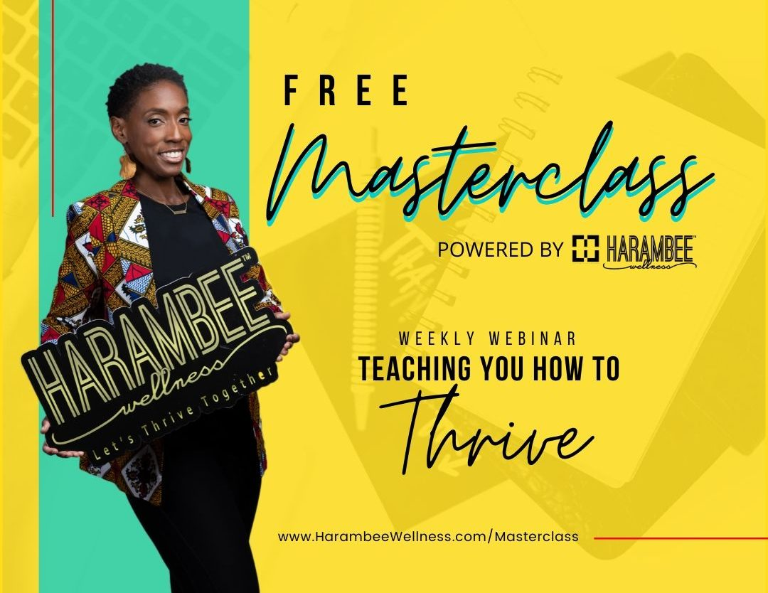 Free Masterclass Teaching you how to thrive everyday